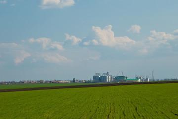 Agricultural Silos - Building Exterior