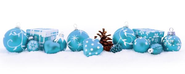 Weihnachten Dekoration als Header Hintergrund