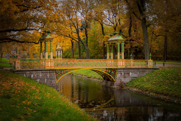 Autumn in the Pushkin.
