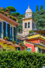 Picturesque fishing village Portofino, Liguria, Italy