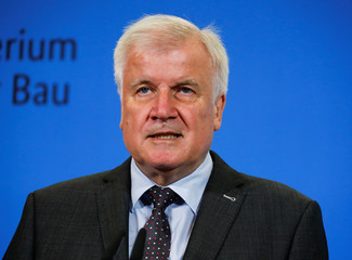 German Interior Minister Horst Seehofer addresses the media in Berlin