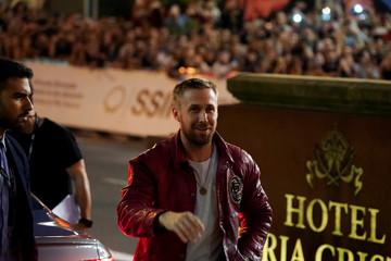 Canadian actor Ryan Gosling arrives to the San Sebastian Film Festival