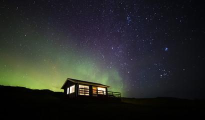 Northern lights cabin