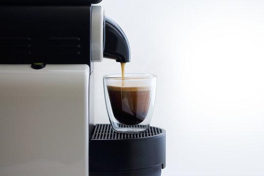 fresh hot coffee for breakfast