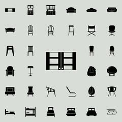 Kitchen Cabinet icon. Furniture icons universal set for web and mobile