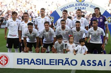 Brasileiro Championship - Corinthians v Internacional