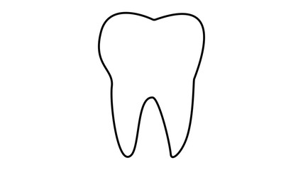 Tooth dentistry icon