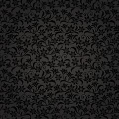 黒 花 ベルベットのような背景 高級感