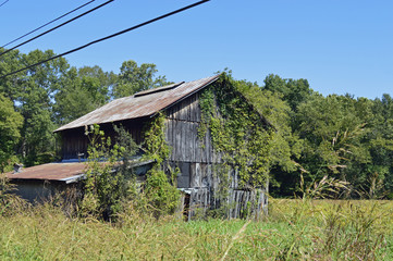 photo of an old barn in the country