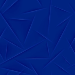 Abstract seamless pattern in blue colors