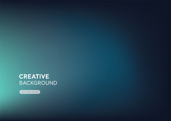 Modern minimal abstract gredient turquoise blue background