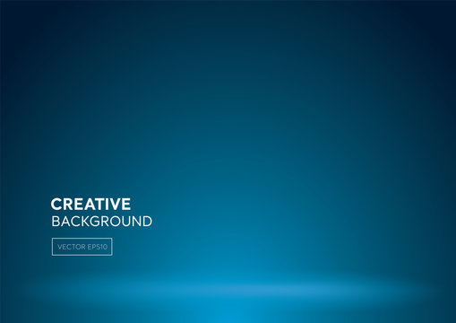 Modern abstract gradient blue background