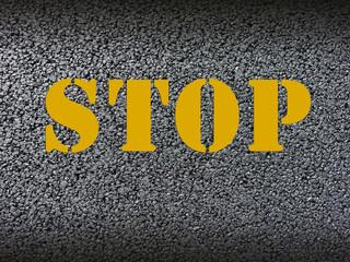 Asphalt Stop Textur