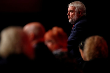 Carwyn Jones, the First Minister of Wales, speaks at the Labour Party's conference in Liverpool