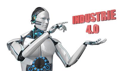 Roboter Klick Industrie 4.0