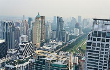 Tuinposter Kuala Lumpur Bangkok und Hua Hin in Thailand