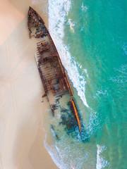 SS Maheno Shipwreck Fraser Island Australia