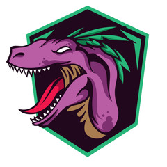 Mascot and character for gaming and sport logo