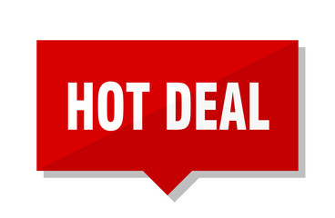 hot deal red tag