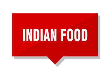 indian food red tag
