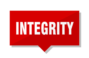 integrity red tag