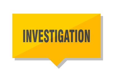 investigation price tag