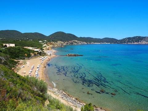 Ibiza - der herrliche Strand Playa de Figueral