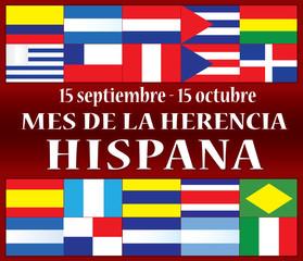 Hispanic Heritage Month Spanish