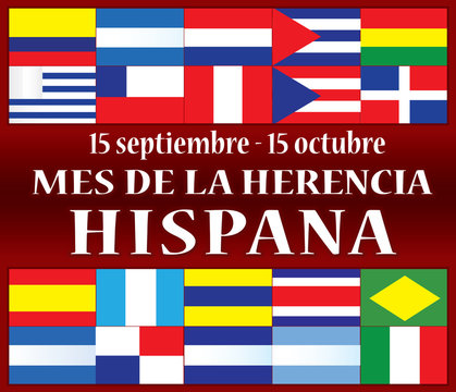 Hispanic Heritage Month Spanish