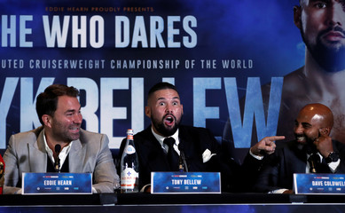 Oleksandr Usyk & Tony Bellew Press Conference