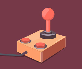 Vintage game controller