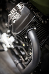 Motorcycle V Twin engine