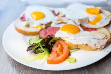 Breakfast with Prepared Egg - prepared egg under the sun