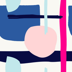 Fototapete - Abstract Seamless Pattern