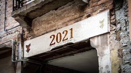 Schild 383 - 2021