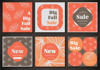 Fall Sale Social Media Posts