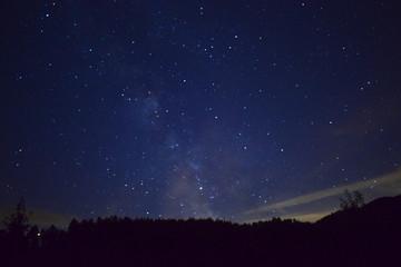 Nachthimmel in Deutschland
