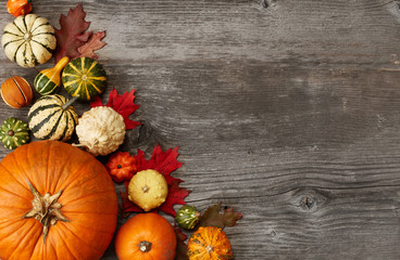 Fall Pumpkin Holiday Background