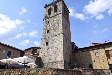 Church of Santiago,  Miranda del Castanar; Sierra de Francia Nature Reserve; Salamanca province; Castilla Leon; Spain