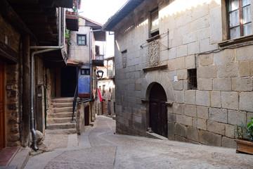 old town of Miranda del Castanar; Sierra de Francia Nature Reserve; Salamanca province; Castilla Leon; Spain