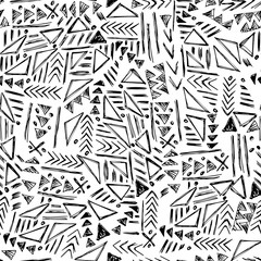 hand drawn seamless vector pattern
