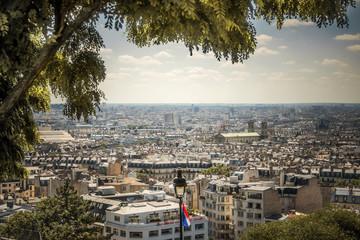 Vue sur Paris depuis, Montmartre