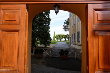 Pontifical palace of Castel Gandolfo
