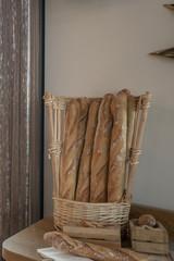 Baguette et pain français
