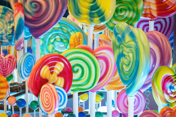 Giant Lolly pop and candies for kids