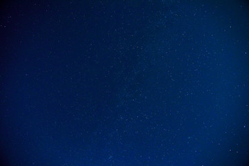The real surface of the night sky with stars