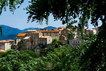 Vue sur Sartene