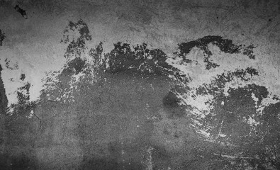 Abstract Grunge black white grey concrete Texture for design