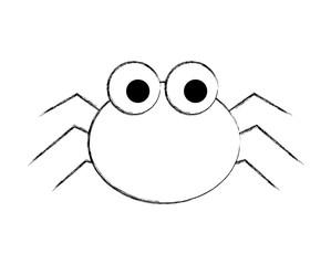 cute spider cartoon scary animal