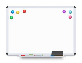 Education or Presentation Whiteboard